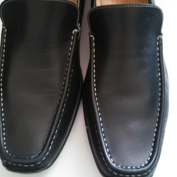 3c3f3711439 Coach Other - Men s Coach black leather driver moccasins